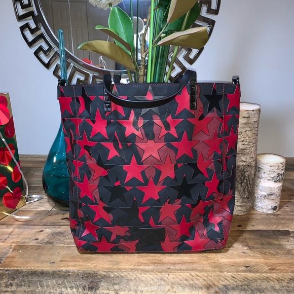 f929267fe02 Valentino Garavani Bags | Rockstud Leather Canvas Tote | Poshmark